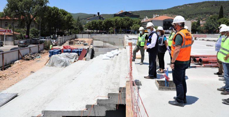 Kent Meydanı Menteşe'nin Prestij Merkezi Olacak