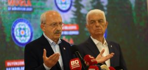 11 Büyükşehir Belediye Başkanı ve Kemal Kılıçdaroğlu Muğla'da