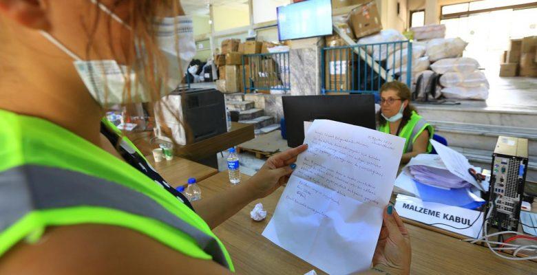 16 yaşındaki Bora'dan yangın mağdurlarına mektup