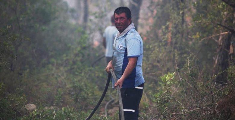 Muğla Büyükşehir 1257 Personeliyle Yangınlarla Mücadele Etti