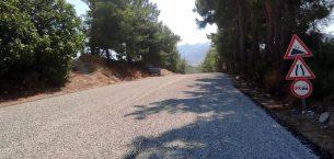 Fethiye ve Seydikemer'de 18 kilometre uzunluğunda yol asfaltlandı