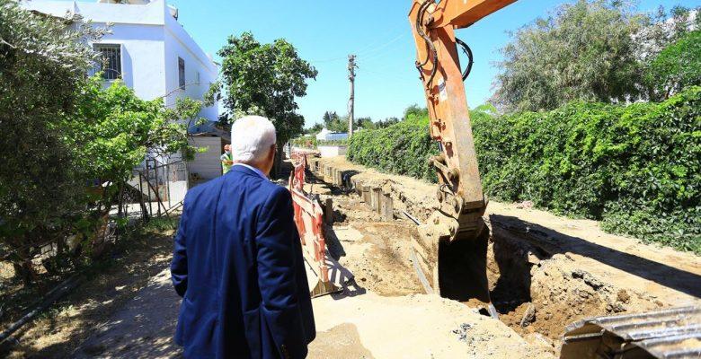 Bodrum'da 160 Kilometre Kanalizasyon Hattının 75 Kilometresi Tamamlandı