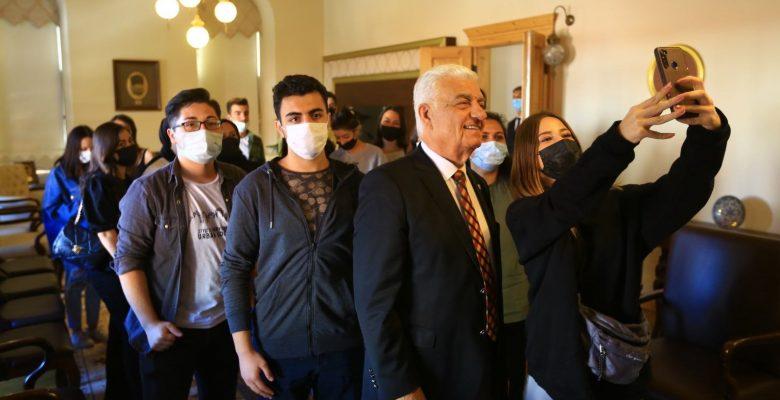 Başkan Gürün, Üniversite Öğrencileri İle Bir Araya Geldi