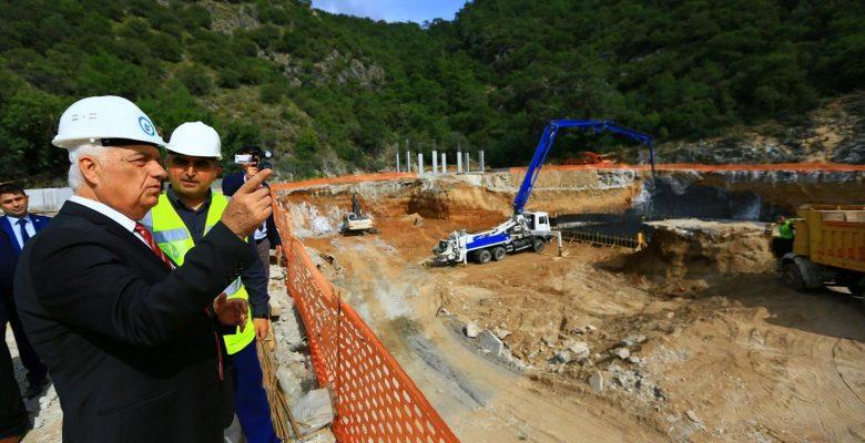 """Başkan Gürün; """"Bodrum'un En Büyük Arıtma Tesisi projemizin %60'ını tamamladık"""""""